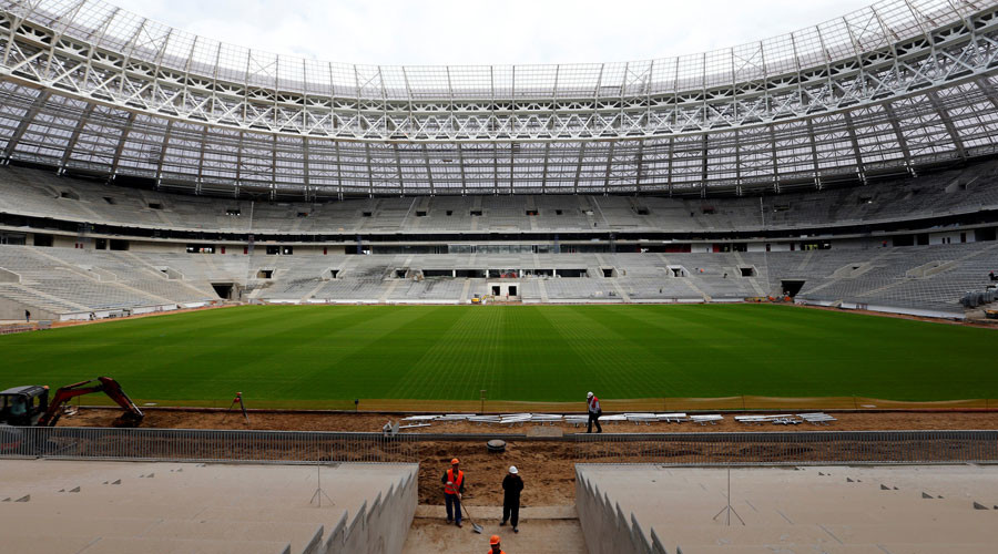 FIFA refuses rock concerts at Russian stadiums in run-up to World Cup