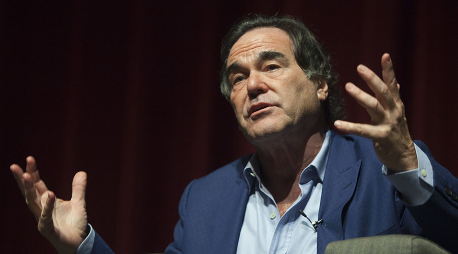 Oliver Stone on RT bank account closure: 'It's a media war and UK sees you as a threat'