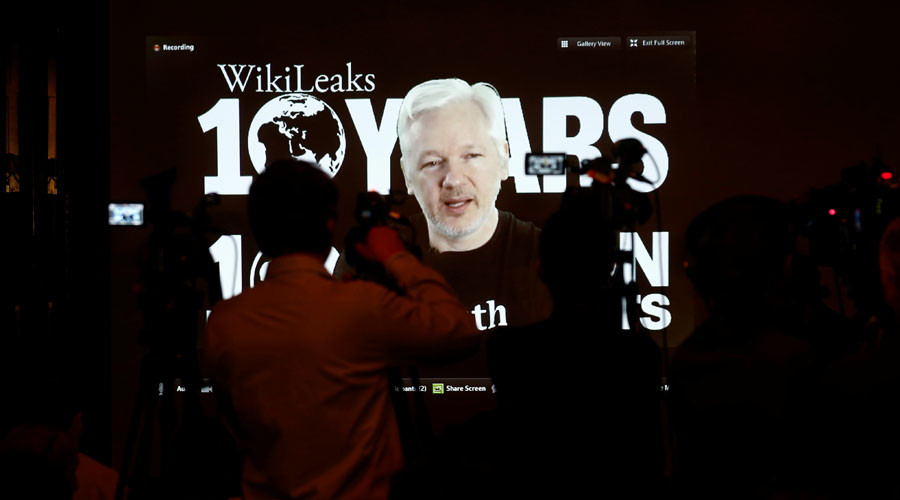'Julian Assange losing internet access possible US cyber attack'
