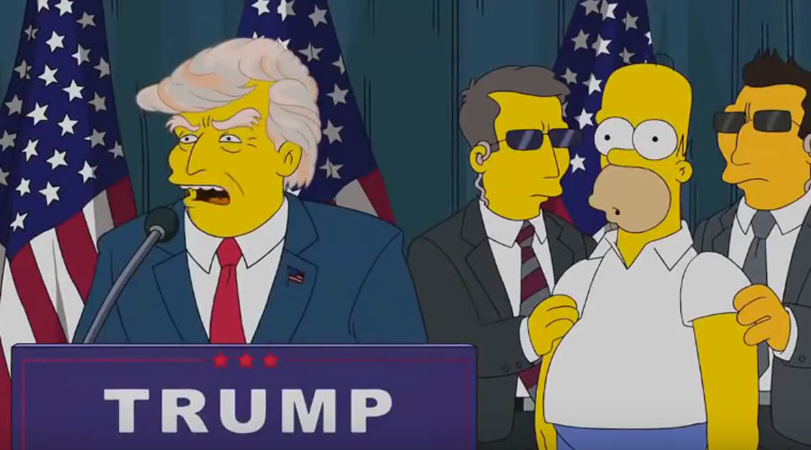 Trump's presidential run & 6 other eerily accurate Simpsons predictions (VIDEOS)