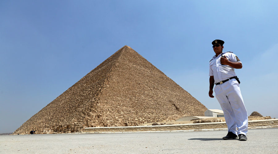 Pyramid scheme: Mysterious chambers found hidden in ancient Giza structure