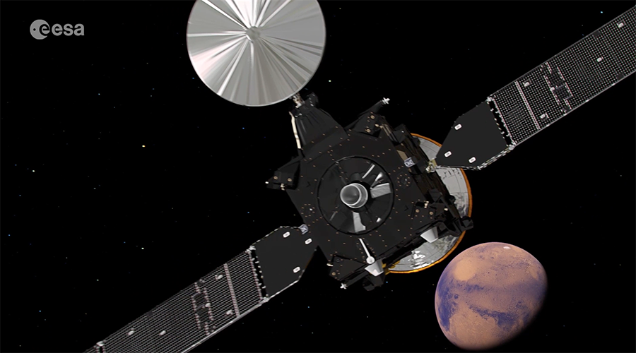 ExoMars probe to touch down on Mars, paving way for future landings