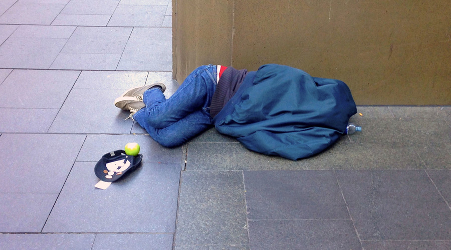 Homeless people told to sleep rough so they qualify for help, charity says