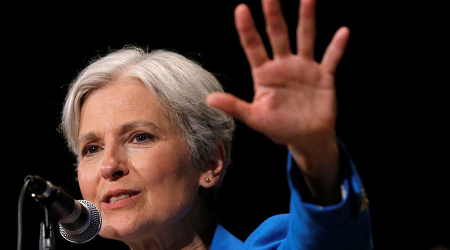 Green Party presidential candidate Jill Stein. © Jim Young