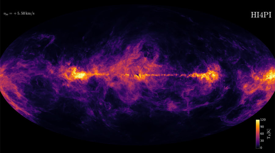 Stunning map of Milky Way created using giant telescopes (VIDEOS)