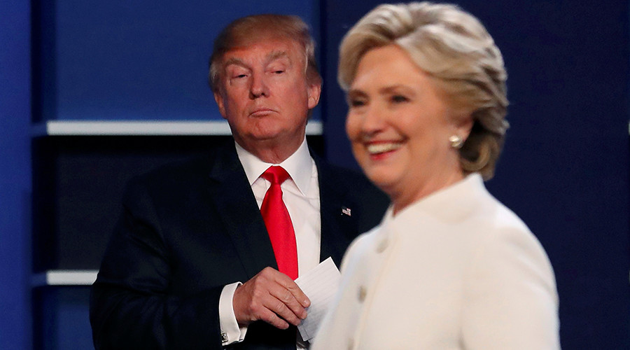 Republican U.S. presidential nominee Donald Trump and Democratic U.S. presidential nominee Hillary Clinton © Mike Blake