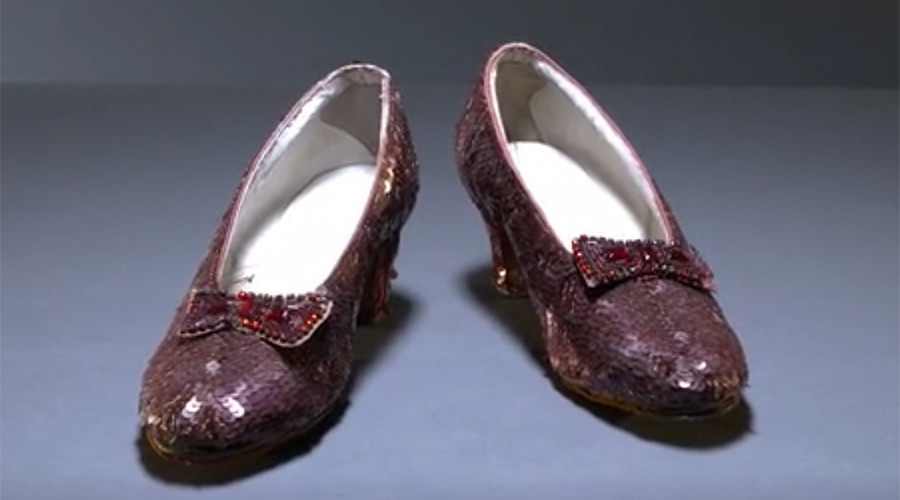 'Click 3 times': Smithsonian turns to Kickstarter to make Dorothy's slippers ruby again