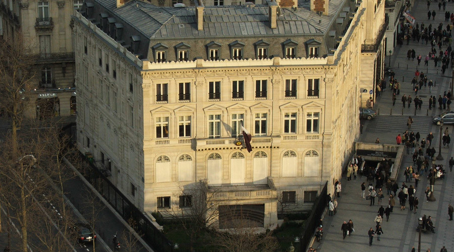Embassy of Qatar in Paris © Krokodyl / Wikipedia