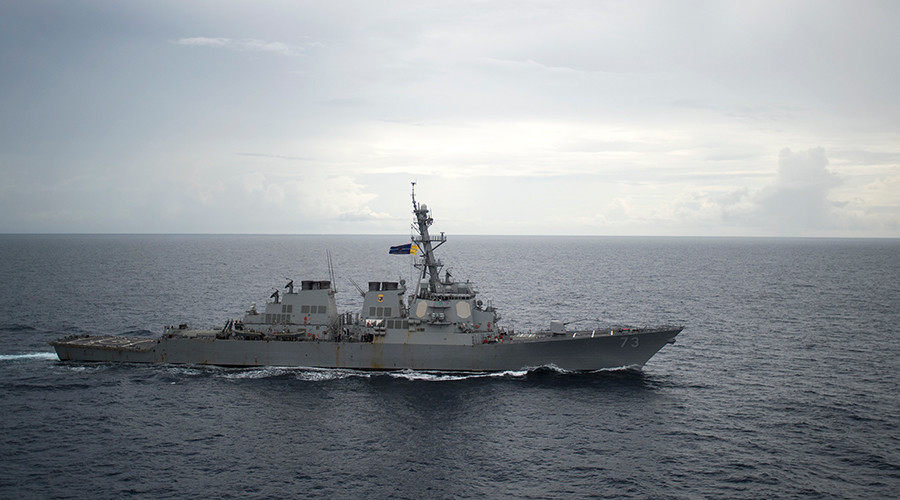 'Illegal & provocative': US destroyer sails through contested waters amid Chinese warnings