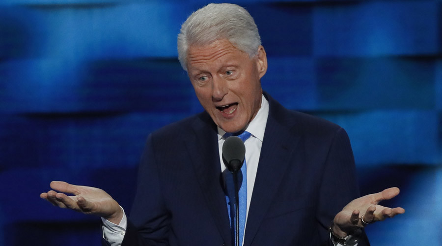 'People don't give a rat's ass about Lewinsky': Bill Clinton sex scandals played down in #Podesta16