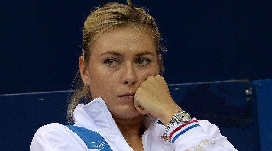 Sharapova dropped from women's tennis singles rankings