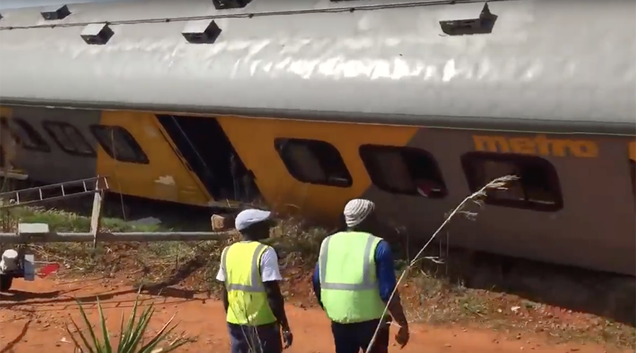 1 killed, over 200 injured in South Africa head-on train collision (PHOTOS, VIDEO)