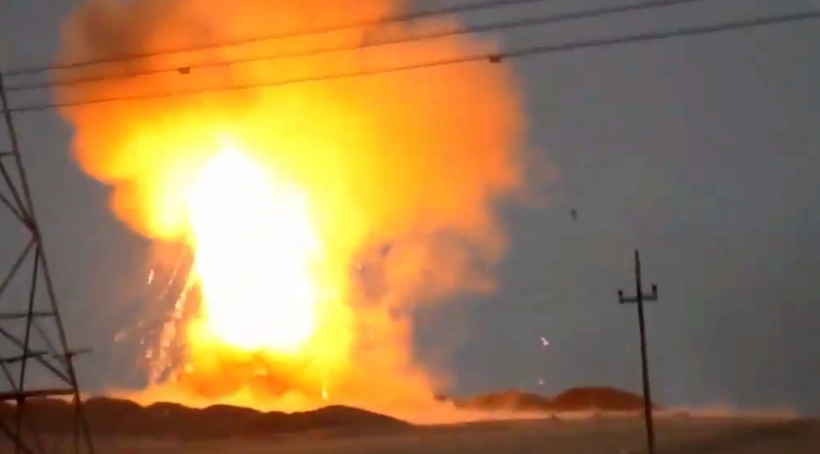 ISIS takes out Iraqi Abrams with anti-tank missile (DRAMATIC VIDEO)
