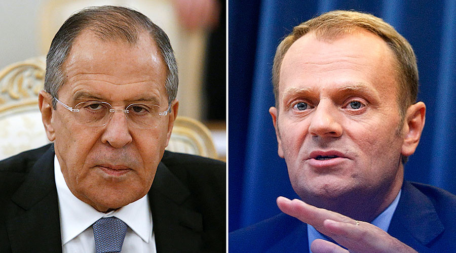 'We want strong EU': Lavrov dismisses 'Russophobic' Tusk claim that Russia seeks to weaken bloc