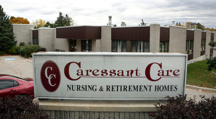 The Caressant Care Woodstock Long Term Care Home, where police accuse nurse Elizabeth Wettlaufer of killing seven elderly patients, is seen in Woodstock, Ontario, Canada October 25, 2016. © Peter Power