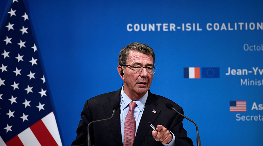 US 'laying groundwork' for Raqqa assault, no role for Russia – Carter