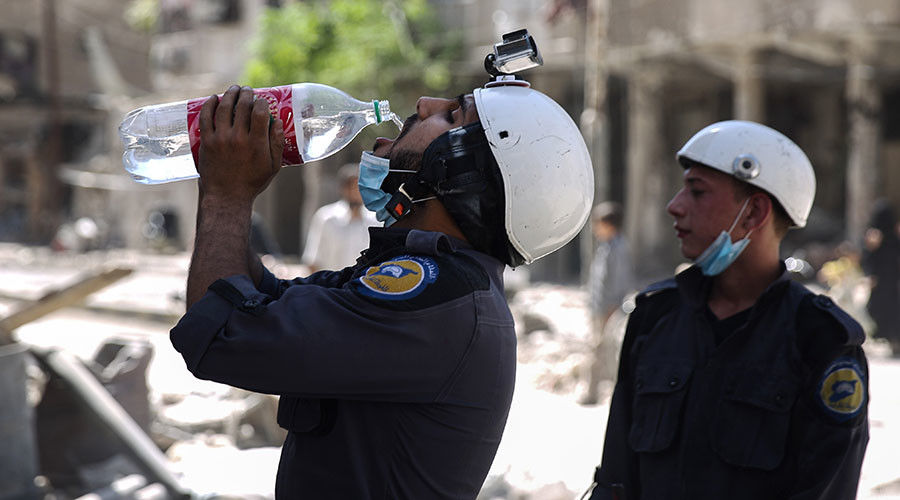 Syrian White Helmets a 'terrorist support group & Western propaganda tool'
