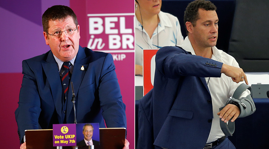 UKIP MEPs Steven Woolfe & Mike Hookem reported to French police over Strasbourg scuffle