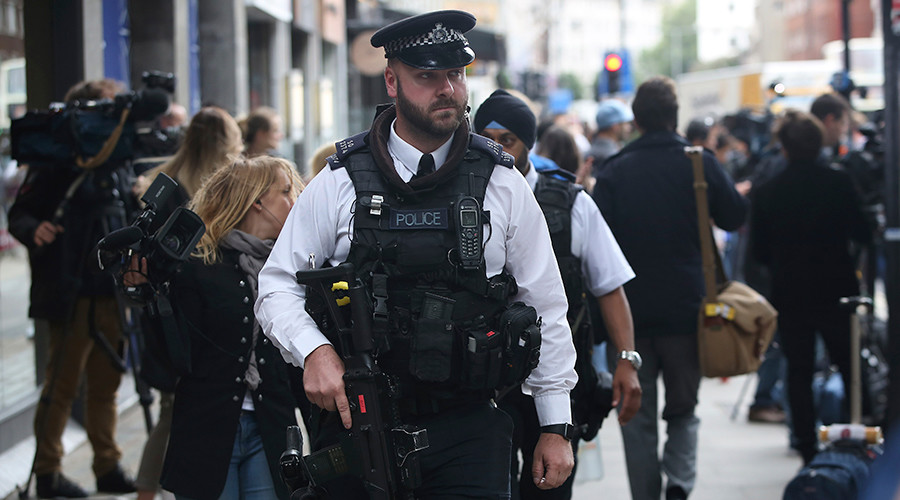 Armed police to ride London Underground after Greenwich bomb scare