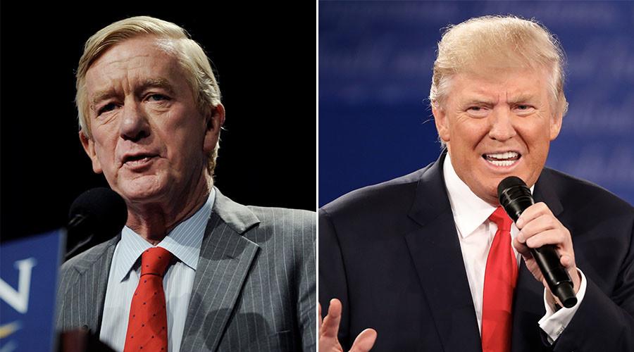 Libertarian vice presidential candidate Bill Weld (L) and Republican U.S. presidential nominee Donald Trump. ©Reuters