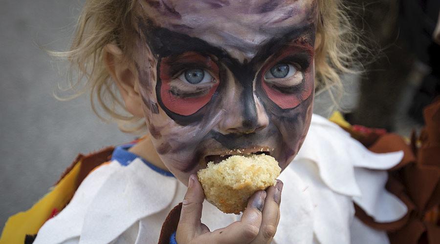 Toxic chemicals found in children's Halloween makeup – study