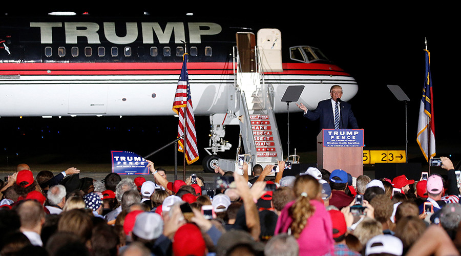 Trump mistakes black supporter for 'thug' and removes from rally (VIDEO)