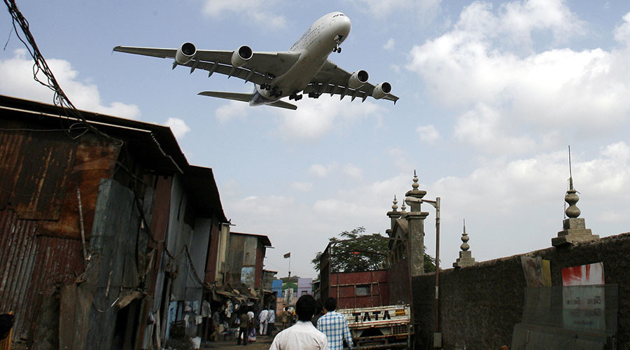 Poop allegedly 'falls from planes' in residential areas of Delhi