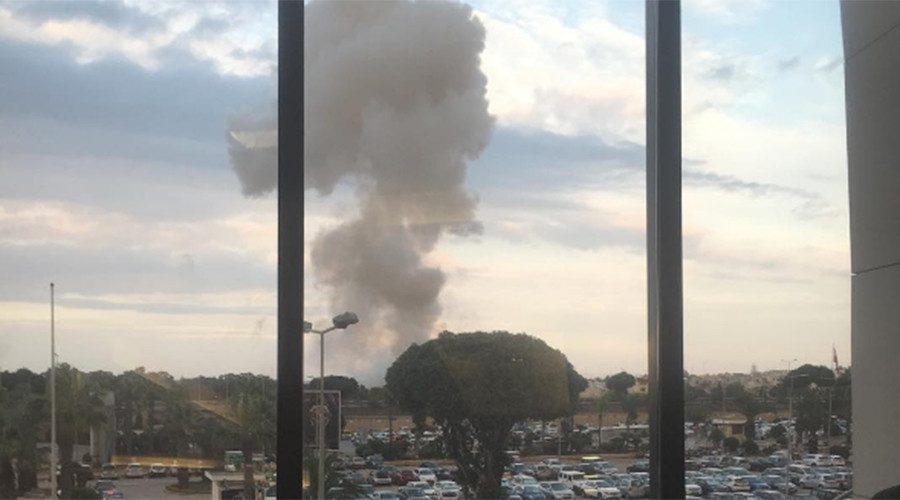Explosion near Malta airport (PHOTOS, VIDEOS)
