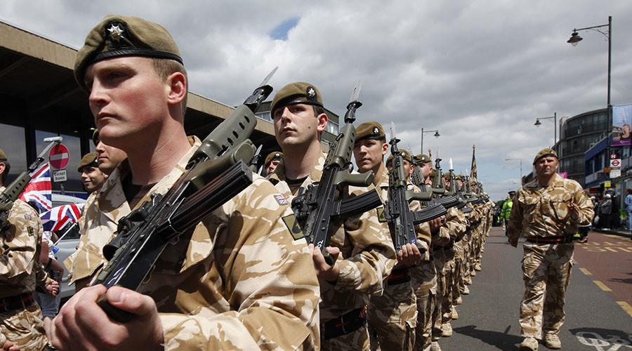 Military chiefs enjoy millions in bonuses while UK troops endure brutal pay freeze