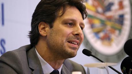 Ecuadorian Foreign Minister Guillaume Long © Ricardo Rojas