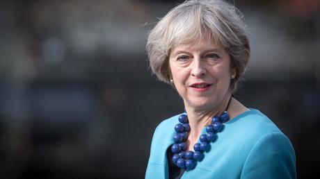 UK Prime Minister Theresa May © Matt Cardy