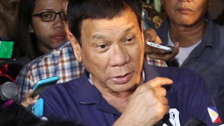 Philippines President Rodrigo Duterte © Lean Daval Jr