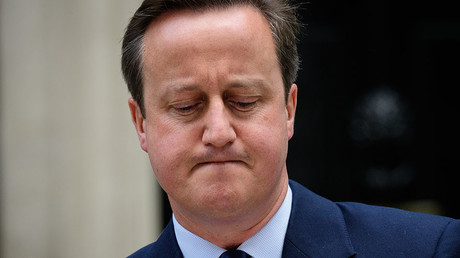 Former British Prime Minister David Cameron. ©Leon Neal
