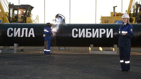 Construction of Power of Siberia gas pipeline ©Aleksey Nikolskyi