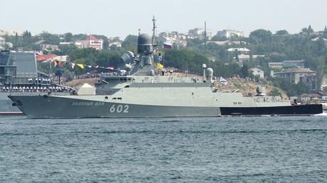 The Zelyony Dol small missile ship. ©Vasiliy Batanov