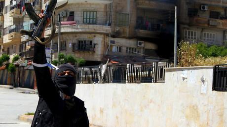 Member of al-Qaeda's Nusra Front © Ammar Abdullah