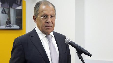 Russian Foreign Minister Sergey Lavrov © Sputnik