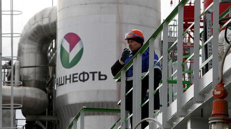 Bashneft - Novoil refinery in the city of Ufa, Bashkortostan, Russia. ©Sergei Karpukhin
