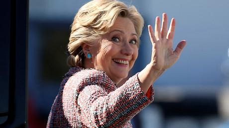 U.S. Democratic presidential nominee Hillary Clinton © Lucy Nicholson / Reuters