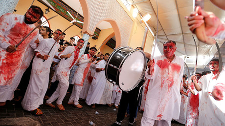Shiite Muslims celebrate Ashura (GRAPHIC)