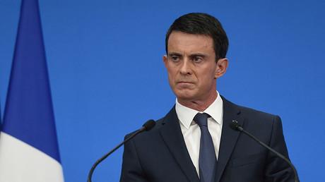 French Prime Minister Manuel Valls. ©Eric Feferberg