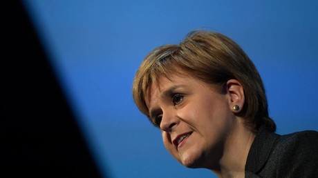 Scotland's first Minister Nicola Sturgeon © Toby Melville