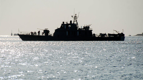FILE PHOTO Iranian navy warship © Stringer