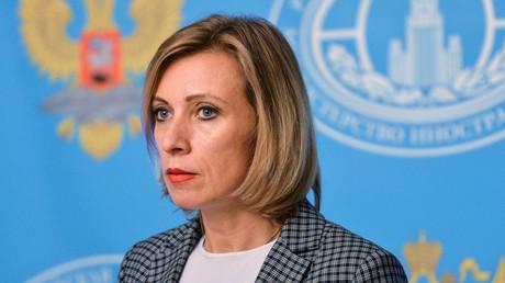 Russian Foreign Ministry Spokesperson Maria Zakharova © Vladimir Pesnya