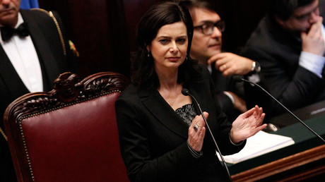 Laura Boldrini © Ciro De Lucahas  Boldrini has asked people to refer to her as 'la Presidente' rather than the masculine 'il Presidente.'