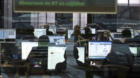 RT newsroom. © Evgeny Biyatov