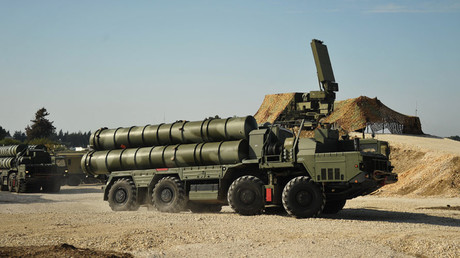 An S-400 air defence missile system © Dmitriy Vinogradov