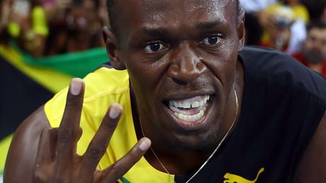 Usain Bolt (JAM) of Jamaica © Kai Pfaffenbach