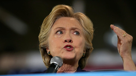U.S. Democratic presidential nominee Hillary Clinton © Lucy Nicholson