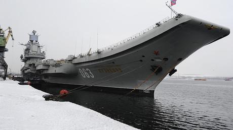 Heavy aircraft-carrying missile cruiser Admiral Flota Sovetskogo Soyuza Kuznetsov © Sergey Eshenko